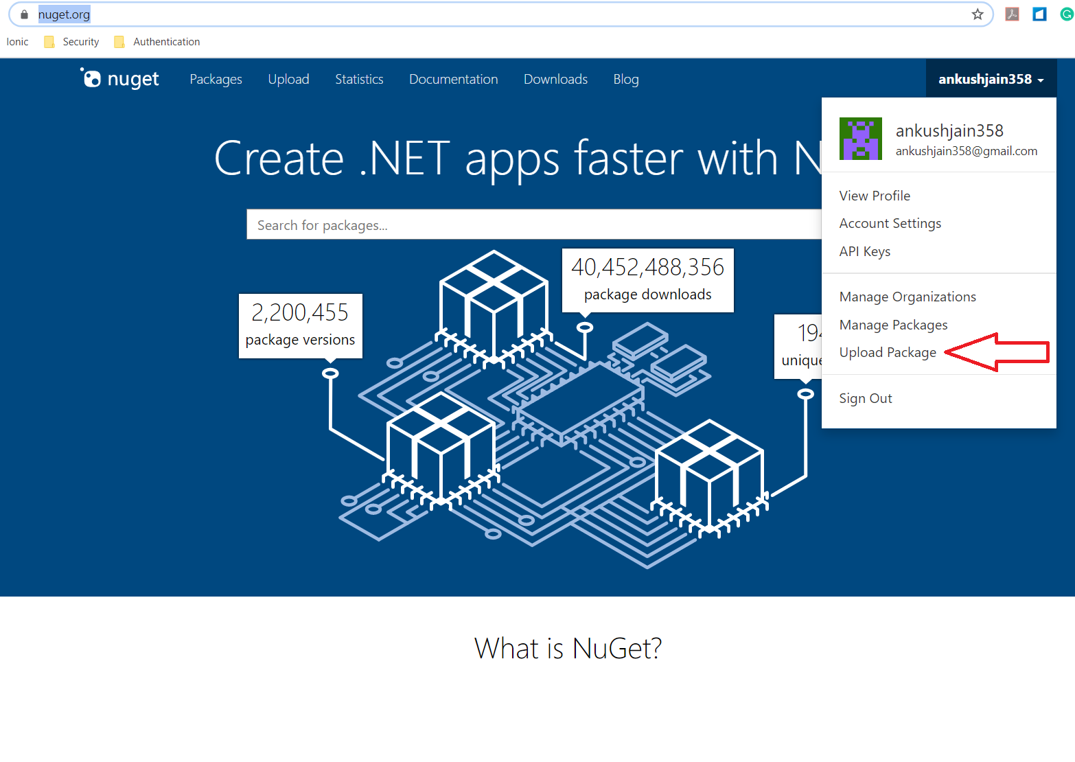 Creating NuGet package using Visual Studio 2019 and deploying it to Nuget.org